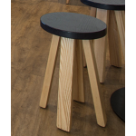 Mahogany casual dining stool