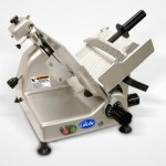 "10"" Manual Gravity Feed Slicer - 1/3 hp"