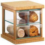 "16.5""x15""x15"" Four Drawer Bread Case"
