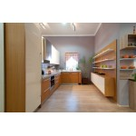 Teak inspired kitchen type 2. HPL