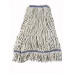 32 Oz. 800g, Mop Head, Looped End, White Yarn - 20/Case
