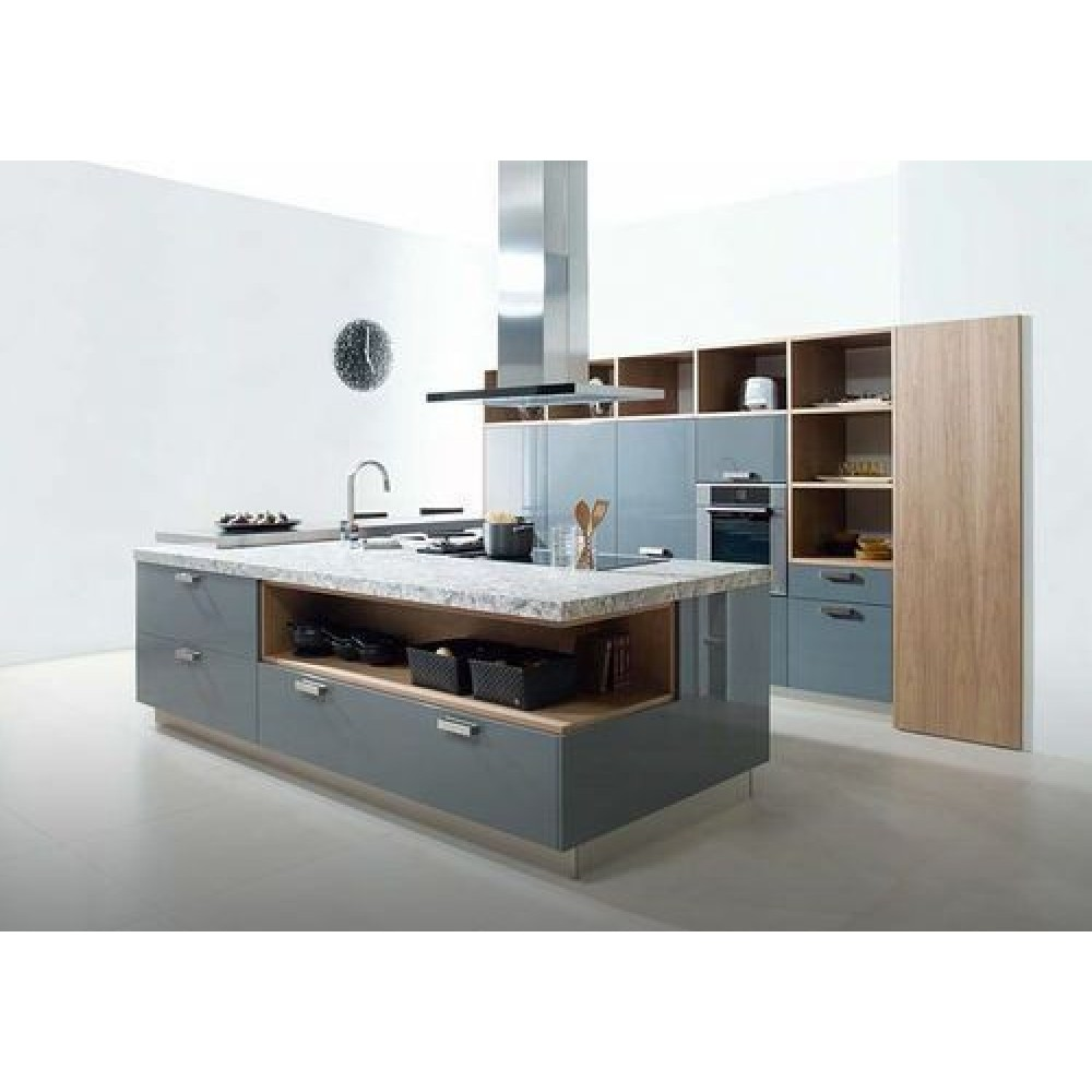 Kitchen Hpl: Island Kitchen Type 500. HPL, PLY