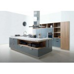 Island kitchen type 500. HPL, PLY