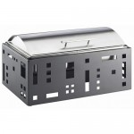 Cal-Mil 1613-55 Squared Chafer (Stainless Steel)