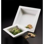 Melamine Bowl, Square-Rimmed, 202 Oz. 14-3/4 Lx14-3/4 Wx3 H - 6/Case