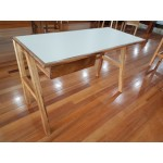 Contemporary living desk. Raitree + HPL 1200x550x760