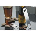 BOTTLE OPENER, MINI FLAT, STAINLESS STEEL 4-1/2 L