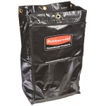 Vinyl Replacement Bag with Zipper for 1861430 Cleaning Cart - 2/Case
