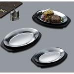 Sizzle Platter, Aluminum, 12-1/2 L 12-1/2 Lx9 W - 24/Case