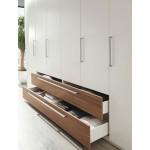Villa wardrobe type 500. HPL, PLY 2500x600x2100