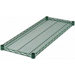 "18"" x 42"" Wire Shelf, Epoxy Coated - 2/Case"