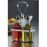 BOTTLES, OIL/VINEGAR, 6 OZ. 5-1/4 L X 2-1/2 W X 9 H