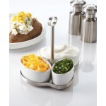 Serving Set, Porcelain 2 Lx2-3/4 Wx1-1/2 H - 12/Case