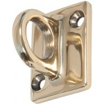"2""x1.5"" Wall Hooks, Gold - 5/Case"