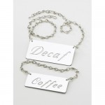 Cal-Mil 618-2 Urn Chain Signs (Decaf)