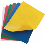 "15"" x 20"" Flexible Cutting Mats, 6 Colors/Set - 12/Case"
