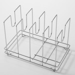 "14""x9"" Pizza Screen Rack, S/S, Silver - 2/Case"