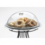 Cal-Mil 150-15 Lift and Serve Clear Gourmet Cover (15DIAx9H)