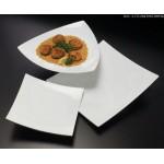 Melamine Platter, Square, Concave 12 Lx12 Wx1-5/8 H - 12/Case