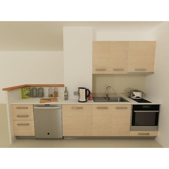 Kitchen Hpl: Apartment Kitchen Type 3 HPL