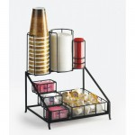 Cal-Mil 1453 Iron Coffee Condiment Display