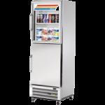 377 Ltr Upright Refrigerator, 2 Half Glass/Half Solid Door - 1/Case