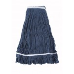 32 Oz. 800g, Mop Head, Looped End, Blue Yarn - 20/Case