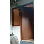 Office door. Style 100. Ply, pine.