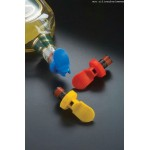 Bottle Stoppers, Plastic, Red/Yellow/Blue - 72/Case