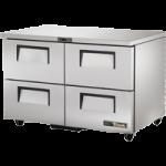 72 Ltr Undercounter Refrigerator, 4 Drawer - 1/Case