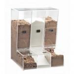 Cal-Mil 947 Classic Acrylic Food Bins (4.5Wx12Dx16.5H - 1 Bin)