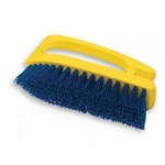 Iron Handle Scrub Brush, Polypropylene Fill - 6/Case