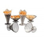 Conical Basket, Birdsnest, Chrome, 9 Dia. 9 Dia.x4 H - 12/Case
