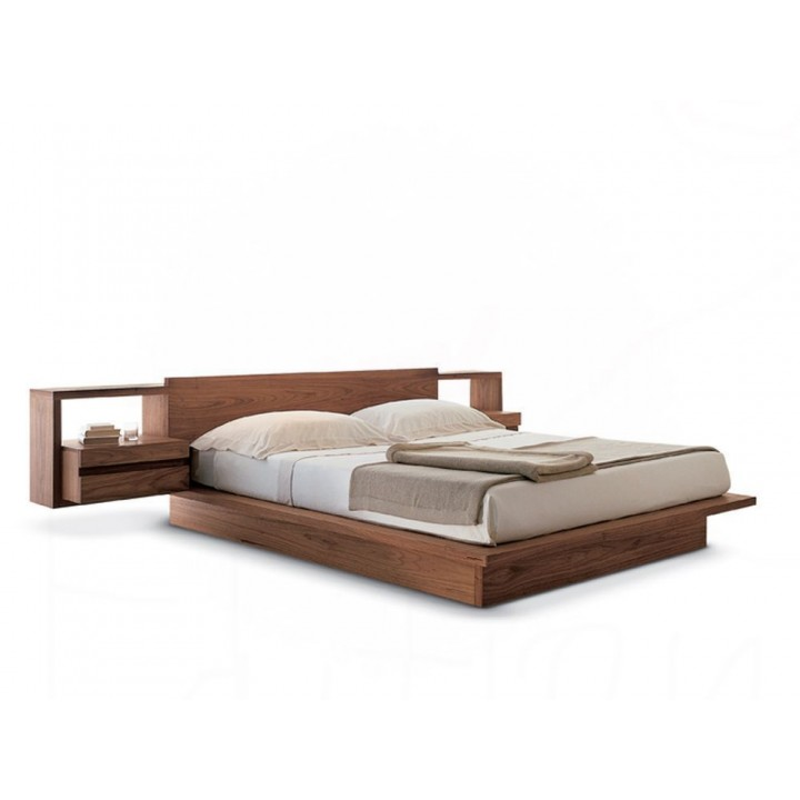 Flying bed with bedside tables. Raintree. 2800x2000x900
