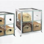 Cal-Mil 1586-13 Soho Bread Case (Black)
