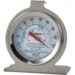 "Freezer/Refrig Thermometer, 2"" Dial - 12/Case"