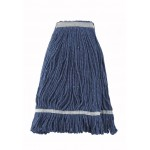 24 Oz. 600g, Mop Head, Looped End, Blue Yarn - 20/Case