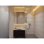 Stained Mahogany Vanity. 1000x495x500 mm