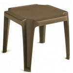 "17""x17"" Low Table, Miami, Bronze - 12/Case"