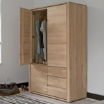 Island Wardrobe. Raintree. Ply. 1200x600x2100