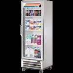 377 Ltr Upright Refrigerator, 1 Full Glass Door - 1/Case