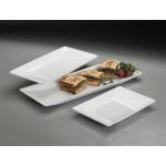 Melamine Platter, Trapezoid, Medium 18-3/8 Lx8-1/8 Wx1-1/2 H - 12/Case