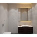Stained Mahogany Vanity. 1200x400x500 mm