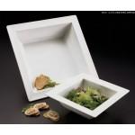Melamine Bowl, Square-Rimmed, 66 Oz. 9-3/4 Lx9-3/4 Wx3 H - 12/Case