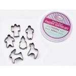 Cookie Cutter Set, Holiday, S/S - 12/Case