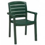 Dining Armchair, Acadia Classic Amazon Green - 4/Case