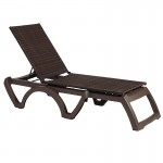 Chaise, Java All-Weather Wicker Espresso - 12/Case