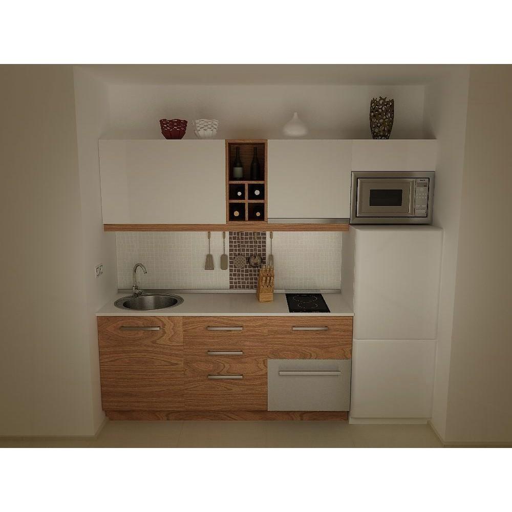 Kitchen Hpl: Apartment Kitchen Type 1 HPL, Raintree