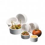 Ramekin, Ceramic, Ceramekin™, 2 Oz. 2-3/4 Dia.x1-1/4 H - 24/Case