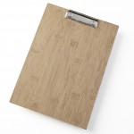 "9""x9"" Clipboard Menu Holder, Brown - 24/Case"